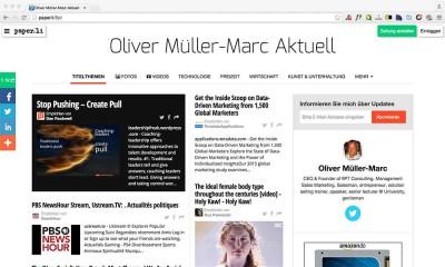 Paper.li eigene Zeitung aus Tweets erstellen