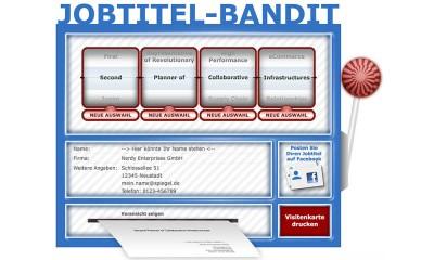 Jobtitel Bandit