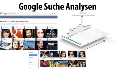 Google Suche Analysen