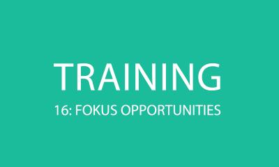 Verkaufstraining 16: Fokus auf die richtigen Opportunities