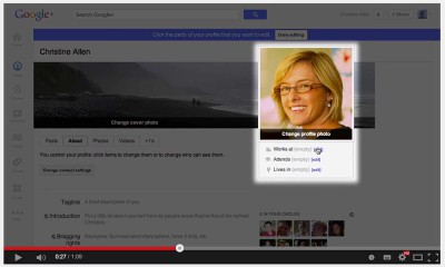 Google Plus Tutorials: Profile, Circles, +1, Hangouts [Videos]