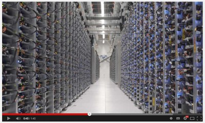 Google Rechenzentrum mit Street View entdecken [Video]